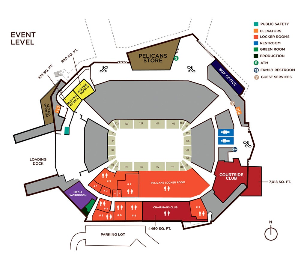 100 new orleans convention center floor plan maps for Mercedes benz superdome layout