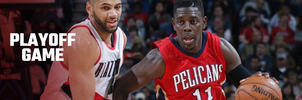 Pelicans Vs. Portland Trail Blazers