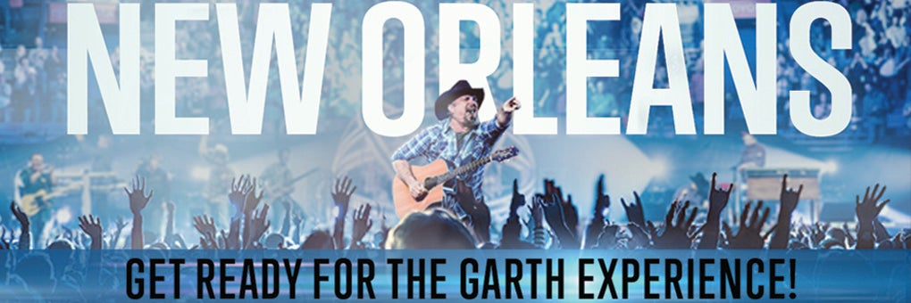 Garth Brooks Tour New Orleans
